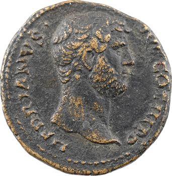 Hadrien, as ou dupondius, Rome, 134-138