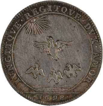 Louis XIV, Bourgogne, la paix de Ryswick, 1698 Paris