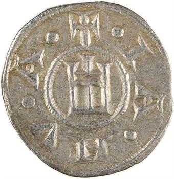 Italie, Gênes (République de), denier à l'épine, s.d. (1139-1339)