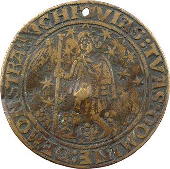 Châlons-en-Champagne, jeton, passe des monnayeurs, s.d. (1491) Châlons-en-Champagne