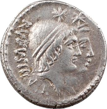 Cordia, denier, Rome, 46 av. J.-C.