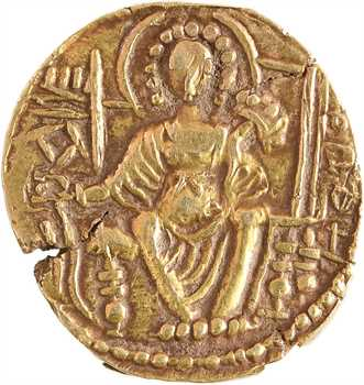 Inde, Royaume des Kushans, Kipanada (?), statère, 330-360