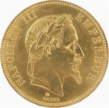 Second Empire, 100 francs tête laurée, 1868 Paris