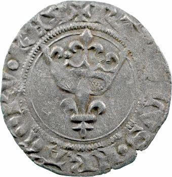 Charles VI, double tournois dit niquet, Tournai