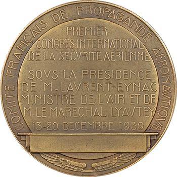 Delannoy (M.) : Premier Congrès de la Sécurité Aérienne, 1930 Paris
