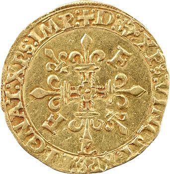 François Ier, écu d'or au soleil 12e type, s.d. Bayonne