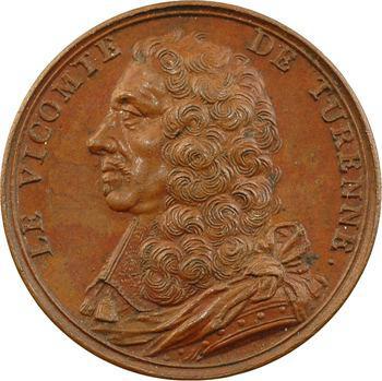 Henri de La Tour d'Auvergne, Vicomte de Turenne, médaille par J. Dassier