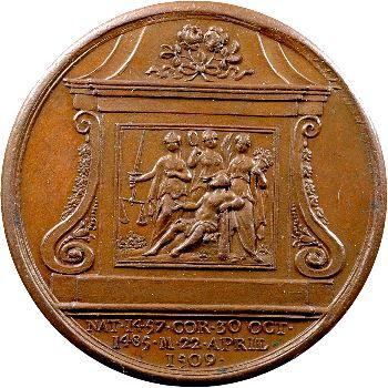 Angleterre, série des Rois par Jean Dassier, Henri VII, s.d. (c.1731-1732)