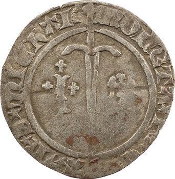 Lorraine, Bar (duché de), René Ier, demi-gros, s.d. Saint-Mihiel