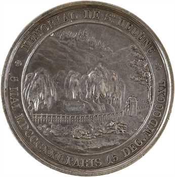 Louis-Philippe Ier, mémorial de Sainte Hélène, par Bovy, 1840 (refrappe de 1977 Paris)