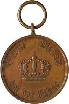 Allemagne, Prusse, décoration, 12 années de service, s.d