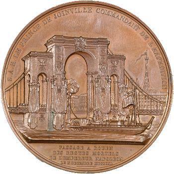 Louis-Philippe Ier, le Retour des cendres, passage à Rouen, par Depaulis, 1840 Paris