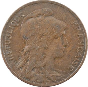 IIIe République, 10 centimes Daniel-Dupuis, 1905 Paris