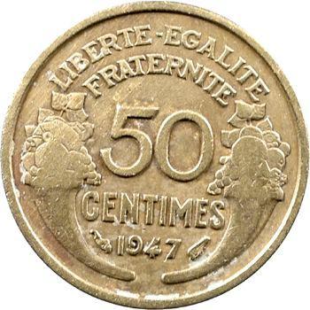 IVe République, 50 centimes Morlon, 1947 Paris