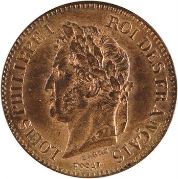 Louis-Philippe Ier, essai de 2 centimes, 1846 PAris