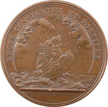 Louis XIV, la constance du Roi, s.d. (frappe postérieure) Paris