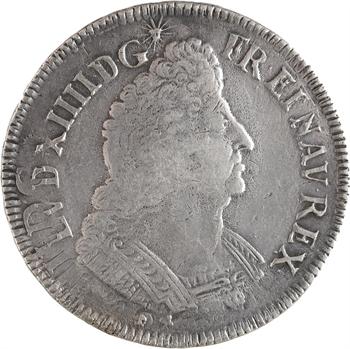 Louis XIV, écu aux palmes, 1694 Montpellier