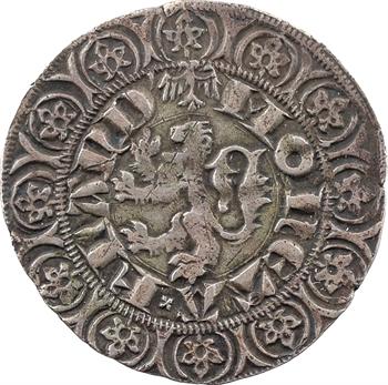 Flandres (comté de), Louis de Crécy, gros au lion, s.d. Gand