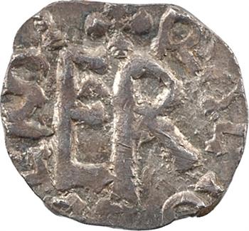Aquitaine, Limoges, denier de l'Église, au nom d'Eboleno, c.675-750