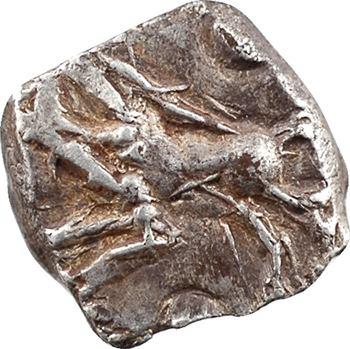 Rutènes, drachme au sanglier, série II, variété 3, dit de Fouzilhon, c.121-52 av. J.-C.