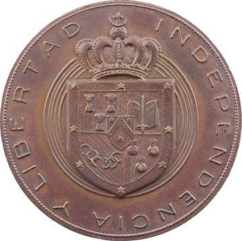 Araucanie, Prince Philippe, médaille par Coëffin
