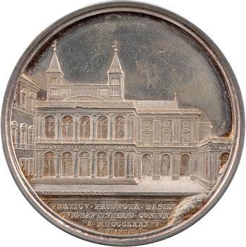 Vatican, Léon XIII, prolongement du portique de la basilique de Saint Jean, An VII (1884) Rome