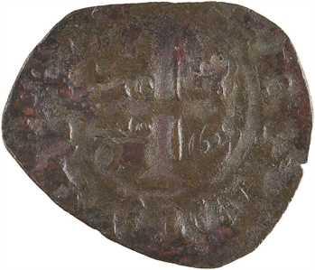 Bretagne (duché de), Charles de Blois, denier tournois, s.d. (c.1355) Rennes ?