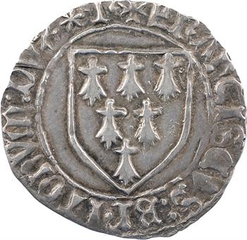 Bretagne (duché de), François II, gros à l'écu, Rennes