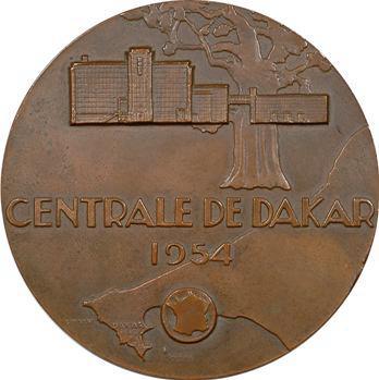 Afrique Occidentale Française, Centrale électrique de Dakar par R. Delamarre, 1954 Paris