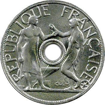 IIIe République, essai de 25 centimes par Delpech, petit module, 1914 Paris