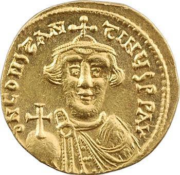 Constant II, solidus, Constantinople, 8e officine, 641-645