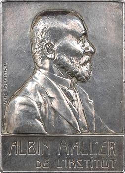 Baudichon (R.) : Albin Haller (chimie organique), en argent, 1910 Paris