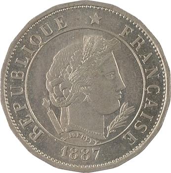 IIIe République, essai de 10 centimes Merley, 1887 Paris