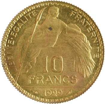 IIIe République, essai de 10 francs par Bénard, 1929 Paris