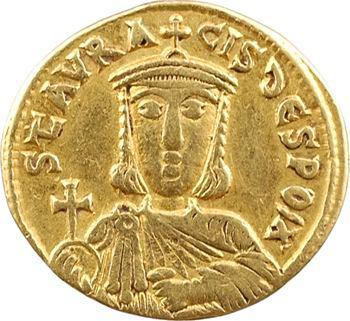Nicéphore Ier, solidus, Constantinople