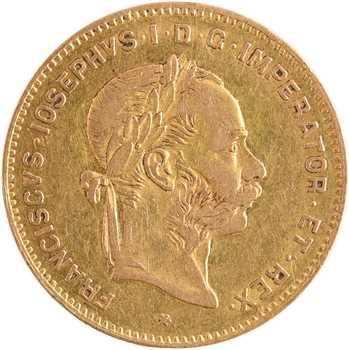 Autriche, François-Joseph Ier, 4 florins ou 10 francs, 1888 Vienne