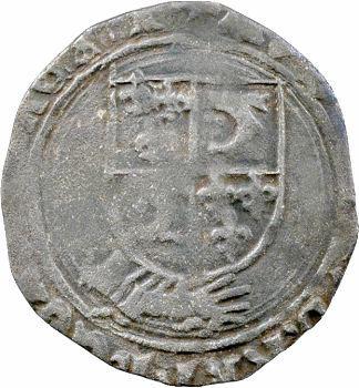 Louis XII, douzain au porc-épic du Dauphiné, Grenoble