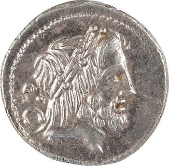 Procilia, denier, Rome, 80 av. J.-C.