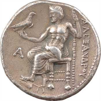 Macédoine, Alexandre le Grand, tétradrachme, Byblos, c.330-320 av. J.-C