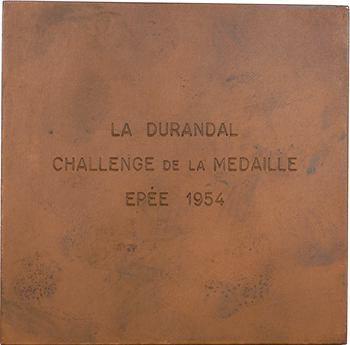 IVe République, Légendes de France (la Durandal), par Delamarre, 1954 Paris
