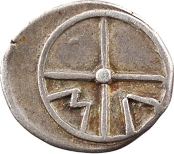 Marseille, obole au type d'Apollon, c.350-220 av. J.-C.