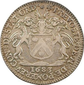 Paris (ville de), Auguste-Robert de Pomereu, prévôt des marchands, 1683