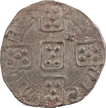 Portugal, Ferdinand Ier, pilarte couronné (pilarte coroado ou 7 dinheiros), s.d. Miranda do Douro