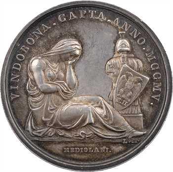 Premier Empire, la prise de Vienne, par Manfredini, 1805 Milan