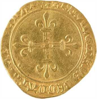Charles VIII, écu d'or au soleil, 2e émission, Villeneuve-lès-Avignon