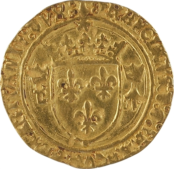 François Ier, écu d'or au soleil de Bretagne 2e type, Rennes