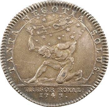 Trésor royal, Louis XV, 1743