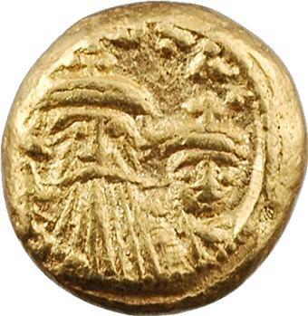 Constant II et Constantin IV, solidus globulaire, Carthage, 654-659