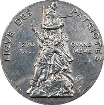 La Ligue des Patriotes, Qui vive ? France ! par Henri Dubois, 1882 Paris