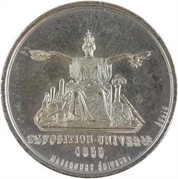 Second Empire, Eugénie impératrice et l'Exposition universelle, par Caqué, 1855 Paris